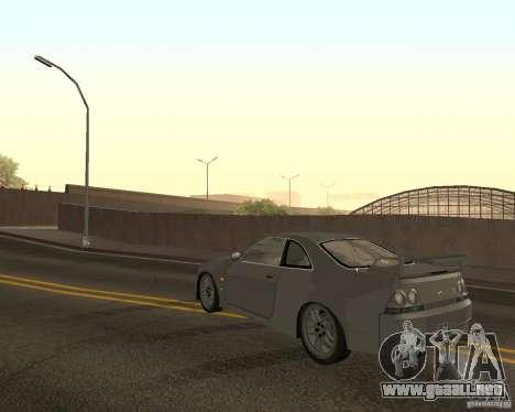 Nissan Skyline GT-R R-33 para GTA San Andreas interior