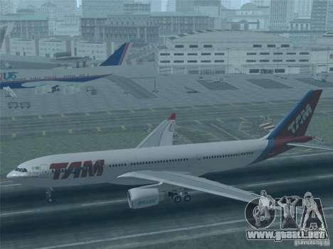 Airbus A330-223 TAM Airlines para GTA San Andreas interior