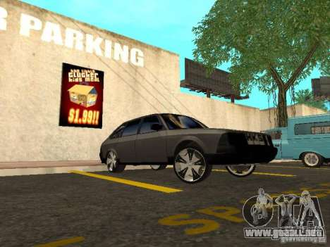 AZLK 2141 Tuning para GTA San Andreas