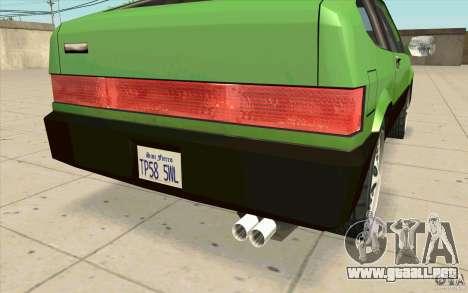 Mad Drivers New Tuning Parts para GTA San Andreas sexta pantalla