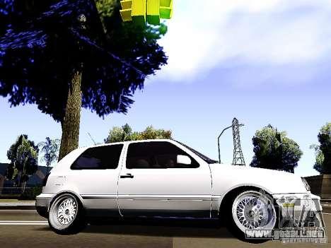 Volkswagen Golf MK3 para GTA San Andreas left