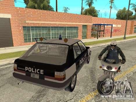 Renault 11 Police para GTA San Andreas left