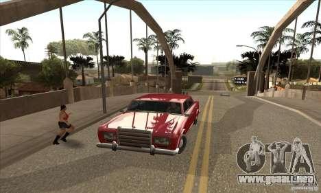 Enb Series HD v2 para GTA San Andreas sucesivamente de pantalla