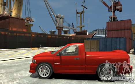 Dodge Ram SRT-10 v.1.0 para GTA 4 left