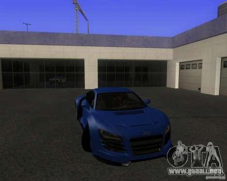 Audi R8 5.2 FSI para GTA San Andreas