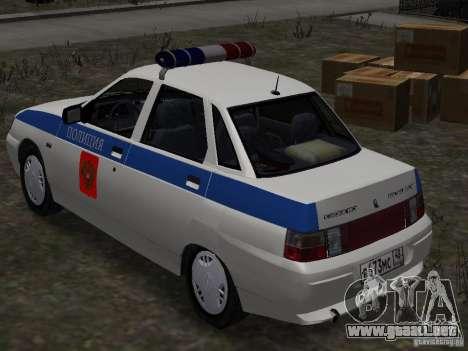 VAZ 2110 DPS para GTA 4 left