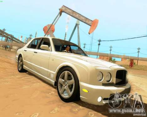 Bentley Arnage para GTA San Andreas