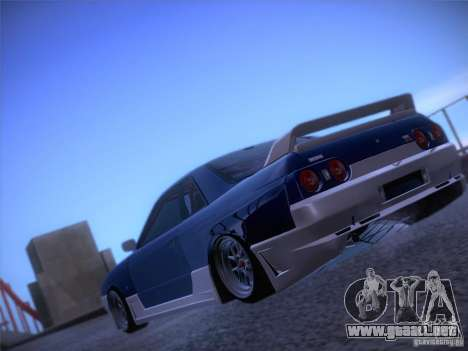 Nissan Skyline R32 Drift Tuning para GTA San Andreas left
