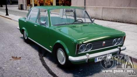 Fiat 125p Polski 1970 para GTA 4 vista lateral