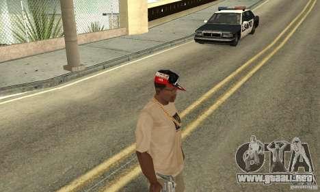 New Era Cap para GTA San Andreas tercera pantalla