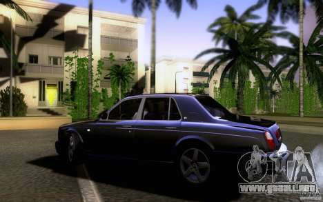 Bentley Arnage para GTA San Andreas left