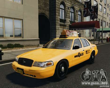 Ford Crown Victoria NYC Taxi 2012 para GTA 4