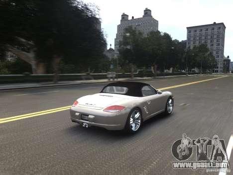 Porsche Boxster S 2010 EPM para GTA 4 vista lateral