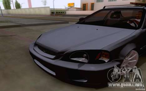 Honda Civic 1999 para visión interna GTA San Andreas