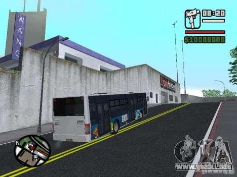 CityLAZ 12 LF para la visión correcta GTA San Andreas