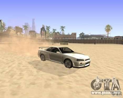 ENBSeries By Krivaseef para GTA San Andreas segunda pantalla