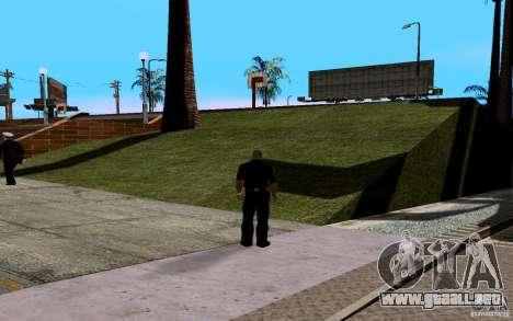 La nueva cancha de baloncesto para GTA San Andreas tercera pantalla