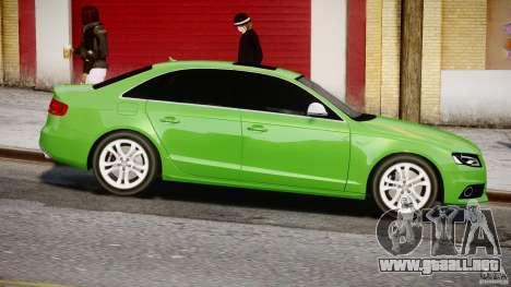Audi S4 2010 v1.0 para GTA 4 vista interior