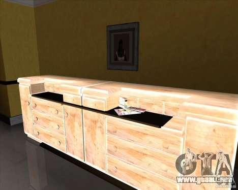New Interior of CJs House para GTA San Andreas sexta pantalla