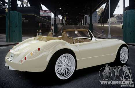 Wiesmann MF3 Roadster Final para GTA 4 left