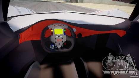Mazda Furai Concept 2008 para GTA 4 vista hacia atrás