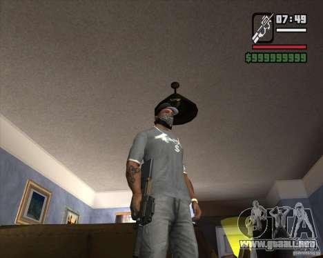 P90 de GTA IV The Ballad of Gay Tony para GTA San Andreas segunda pantalla