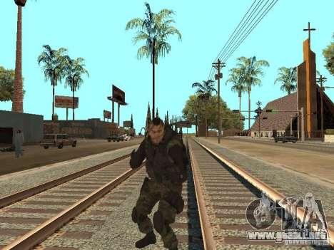 Captain MacTavish para GTA San Andreas sexta pantalla