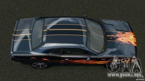 Dodge Challenger SRT8 392 2012 para GTA 4 visión correcta