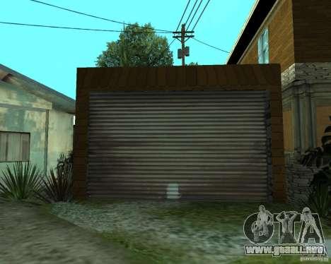CJâ casa nueva para GTA San Andreas sexta pantalla