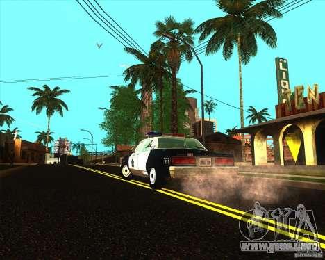 Chevrolet Caprice 1986 SFPD para la visión correcta GTA San Andreas