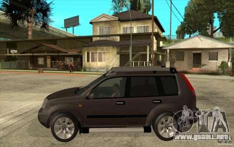 Nissan X-Trail 2001-2007 para GTA San Andreas left