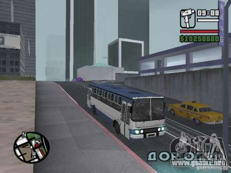 Ikarus 260.27 para GTA San Andreas left