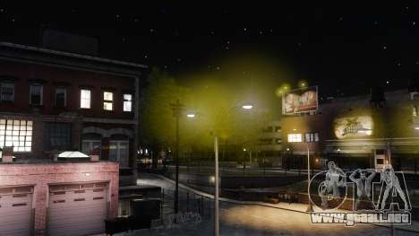 Luz luces amarillas para GTA 4 tercera pantalla
