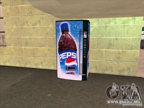 Máquinas expendedoras PEPSI para GTA San Andreas