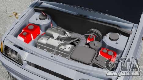 Vaz-2114 v1.1 para GTA 4 vista hacia atrás