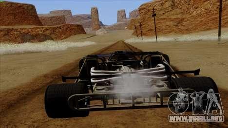 Tirón auto de Furious 6 para la visión correcta GTA San Andreas
