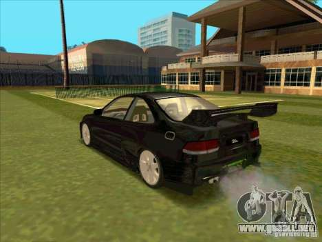 Honda Civic Coupe 1995 from FnF 1 para GTA San Andreas left