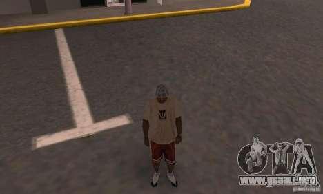 Nike Shoes para GTA San Andreas sucesivamente de pantalla