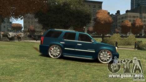 Cadillac Escalade Dub para GTA 4 visión correcta