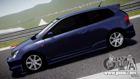 Honda Civic Type-R para GTA 4 left