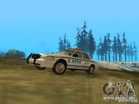Ford Crown Victoria NYPD Police para GTA San Andreas