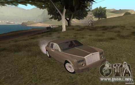 Rolls-Royce Phantom para GTA San Andreas left