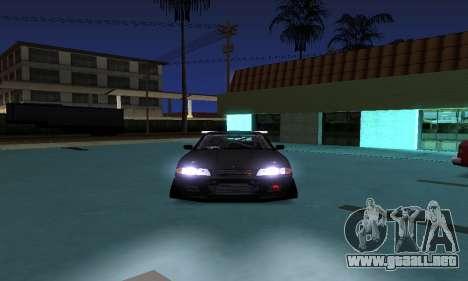 Nissan Skyline R32 GT-R para GTA San Andreas vista posterior izquierda