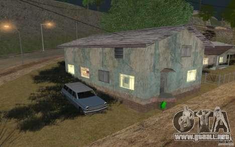 La casa verde para GTA San Andreas