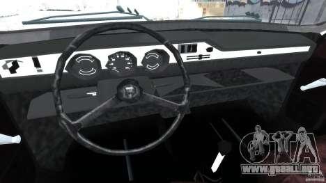 Peykan 1348 1970 para GTA 4 vista hacia atrás
