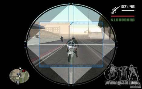 Francotirador mod v. 2 para GTA San Andreas