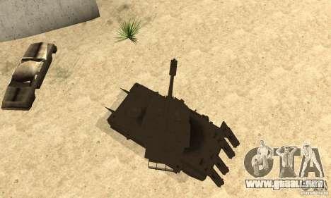 Rinoceronte tanque Megatron para la visión correcta GTA San Andreas