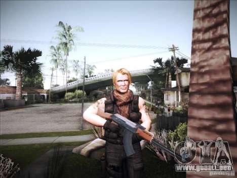 The Expendables para GTA San Andreas segunda pantalla