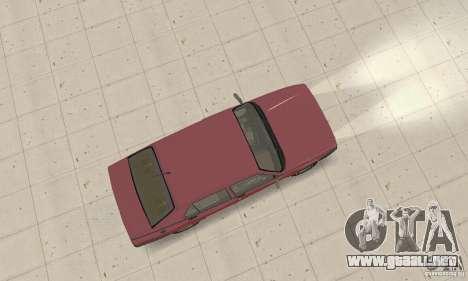 Alfa Romeo 75 para GTA San Andreas vista posterior izquierda
