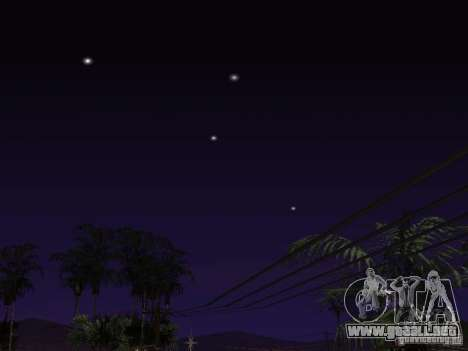 Timecyc - Purple Night v2.1 para GTA San Andreas décimo de pantalla
